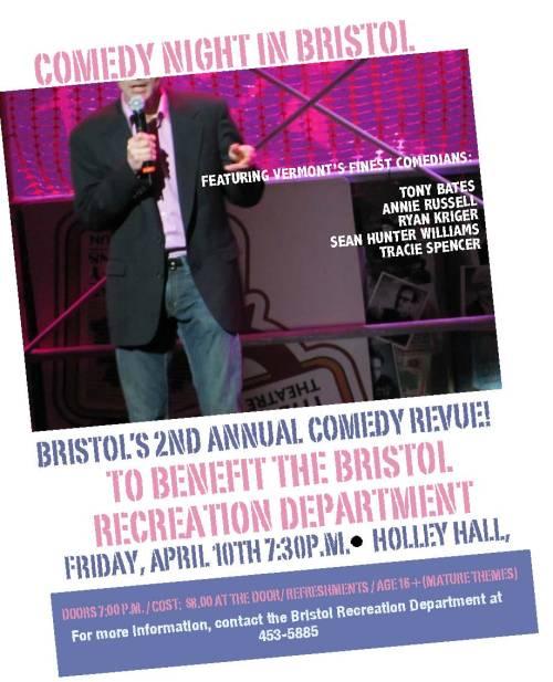 Comedy night in Bristol